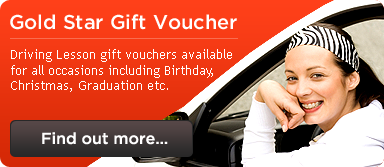 Call Martin for information on Driving Lessons vouchers.